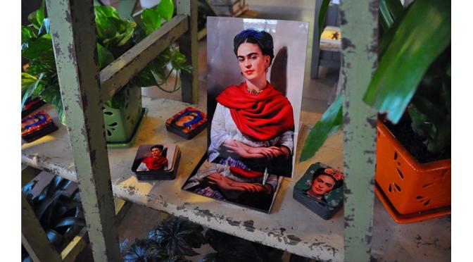 Walking With Frida Kahlo at the NY Botanical Garden…in 2015 part I