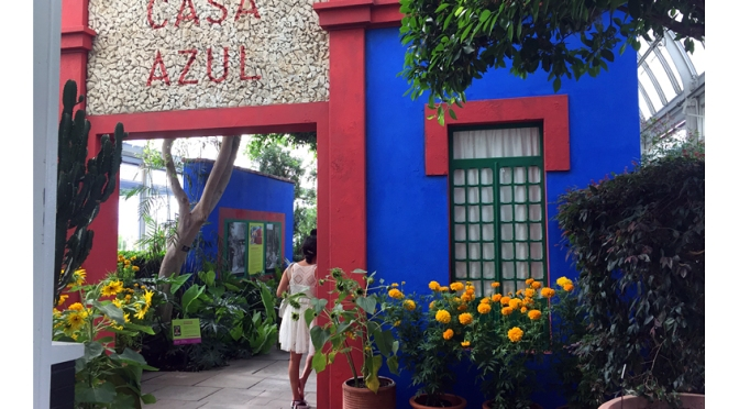 Walking With Frida Kahlo at the NY Botanical Garden…in 2015 II