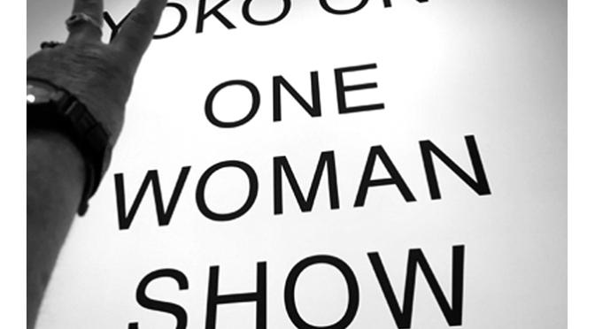 """""""One Woman Show"""", Yoko Ono no MOMA"""